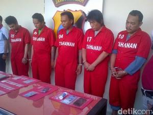 5 Pengedar Sabu Ditangkap di Semarang, 1 Pelaku Dikendalikan Napi