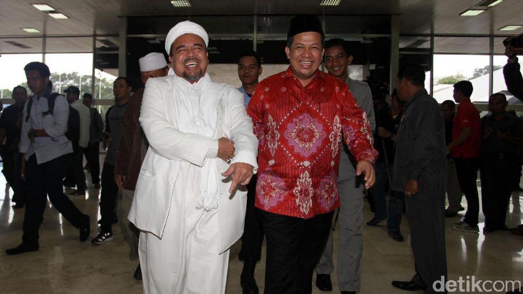 Habib Rizieq Temui Pimpinan DPR