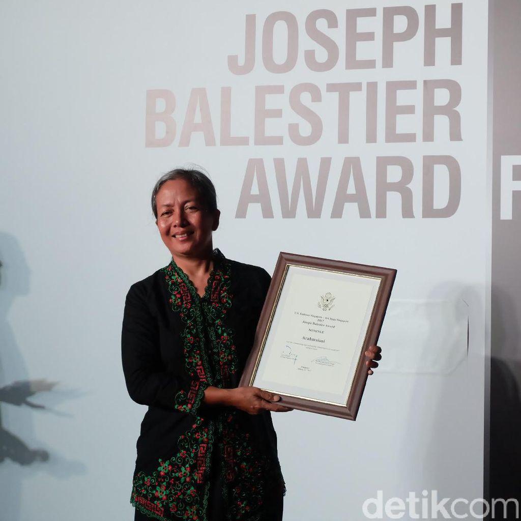 Arahmaiani Bangga Bisa Dinominasikan di Penghargaan Joseph Balestier