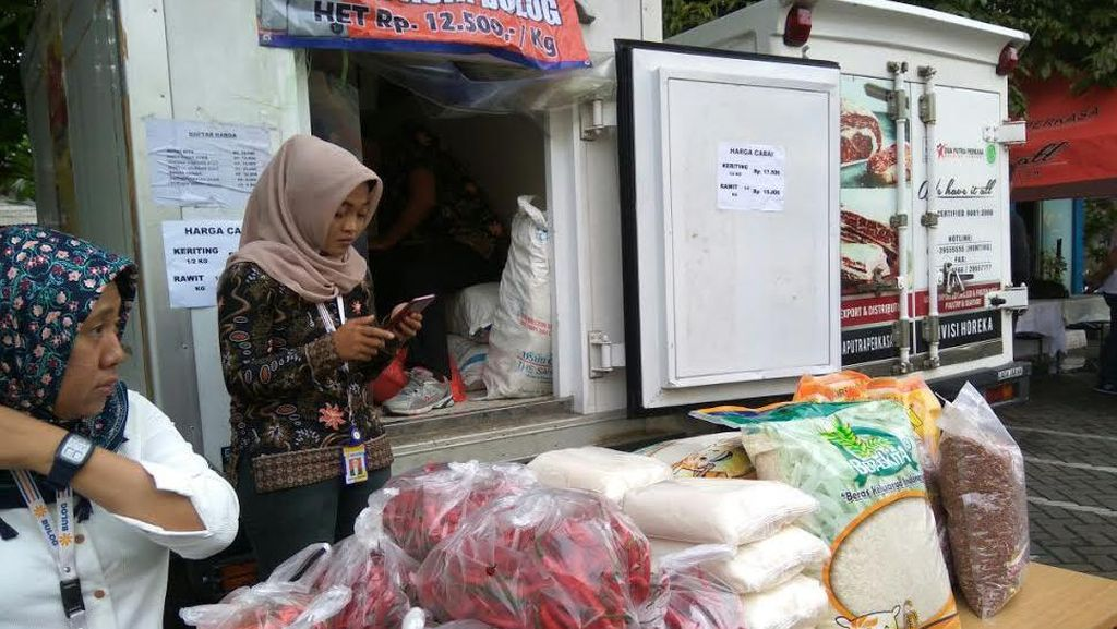 Bulog Jual Cabai Rawit Merah Rp 60.000/kg