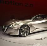 Mobil Nissan Jadi Mobil Konsep Tercantik