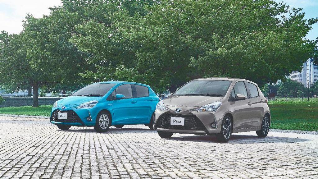 Toyota Yaris Jepang Bersolek