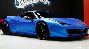 Justin Bieber Jual Ferrari Hasil Modif West Coast Customs