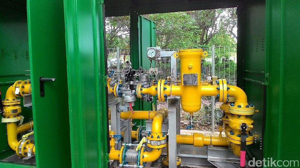Sambungan Gas untuk 56.000 Rumah Tangga Dibangun Tahun Ini
