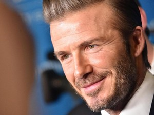 Wajah Menyeramkan David Beckham di Film King Arthur