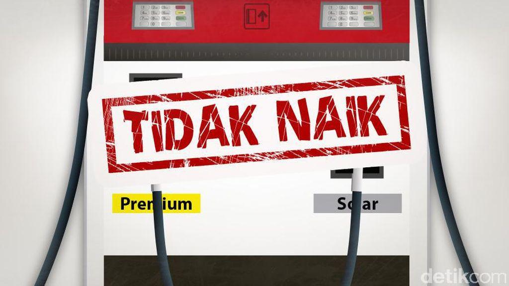 Harga BBM Solar dan Premium Tidak Naik