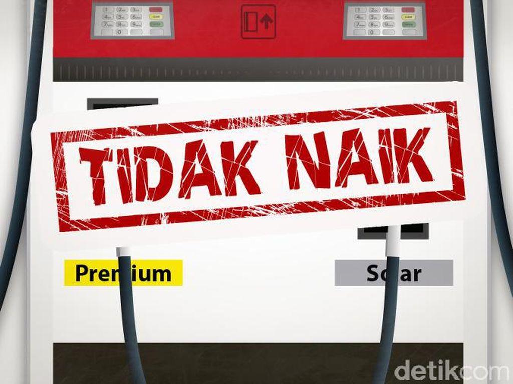 Harga BBM Tetap, yang Naik Subsidi Solar Jadi Rp 2.000/Liter