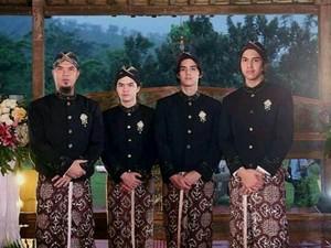 Reaksi Al, El dan Dul Saat Ahmad Dhani Posting Foto Pernikahan dengan Maia