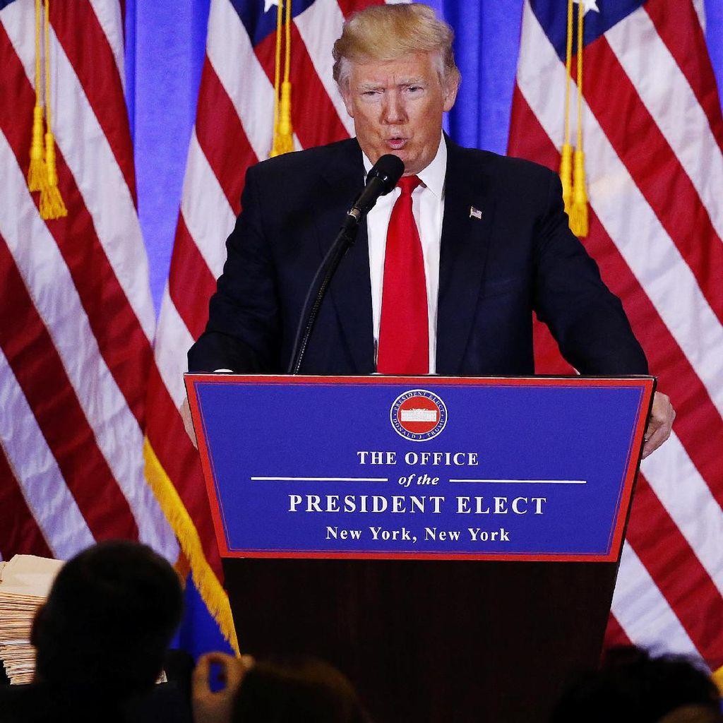 Akan Libur Usai Dilantik Jadi Presiden AS, Trump Diolok-olok