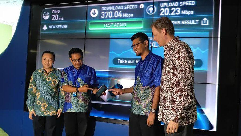 XL 4,5G Mulai Sambangi Kota Besar Indonesia