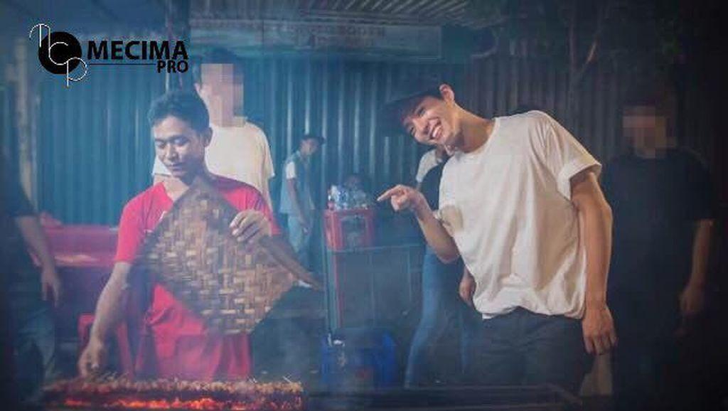 Tiba di Jakarta, Park Bo Gum Jelajahi Kuliner Indonesia