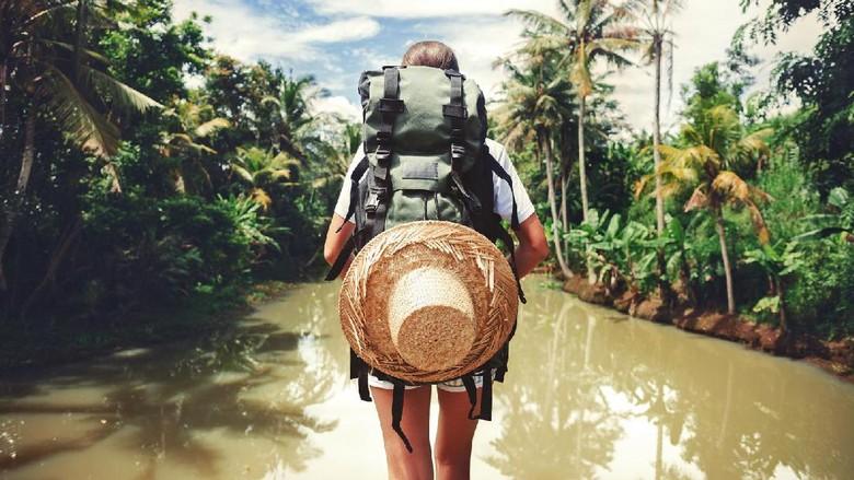 Ilustrasi traveler (Thinkstock)