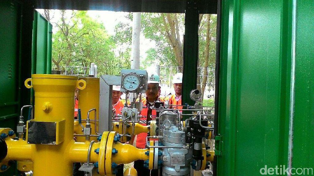 4.000 Rumah Tangga di Batam Dapat Aliran Gas PGN