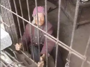 Pria China Kurung Ibunya Berumur 92 Tahun di Kandang Babi