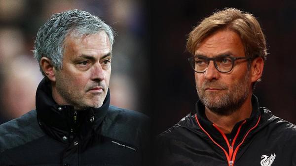 Dominan atas Mourinho, Akankah Klopp Hentikan Laju MU?
