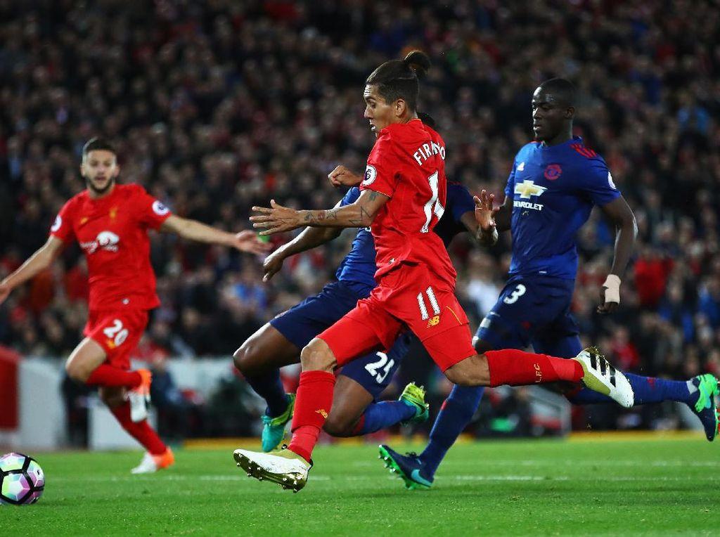Duel Klasik Liverpool vs MU di Anfield
