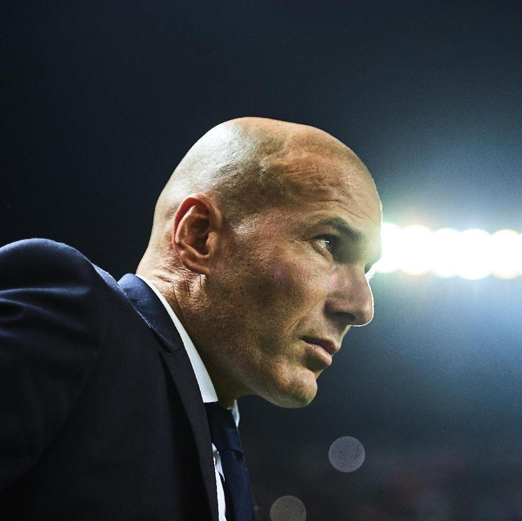 Zidane Tak Khawatir dengan Hasil-Hasil Kurang Sip Madrid Belakangan Ini
