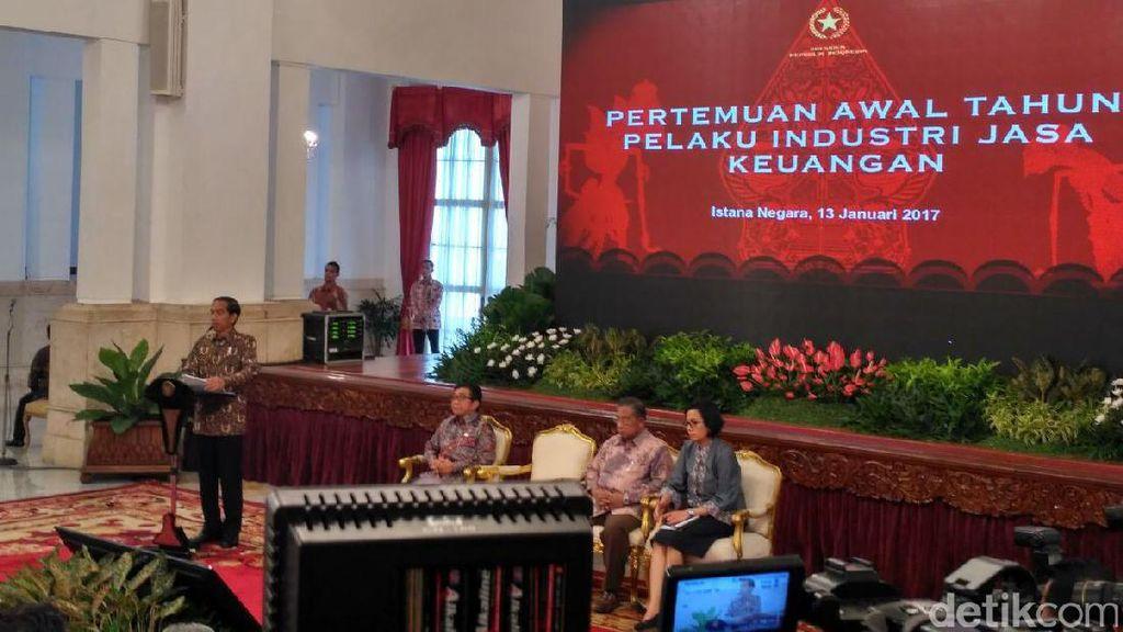 Jokowi ke Bank: Jangan Takut Berikan Kredit
