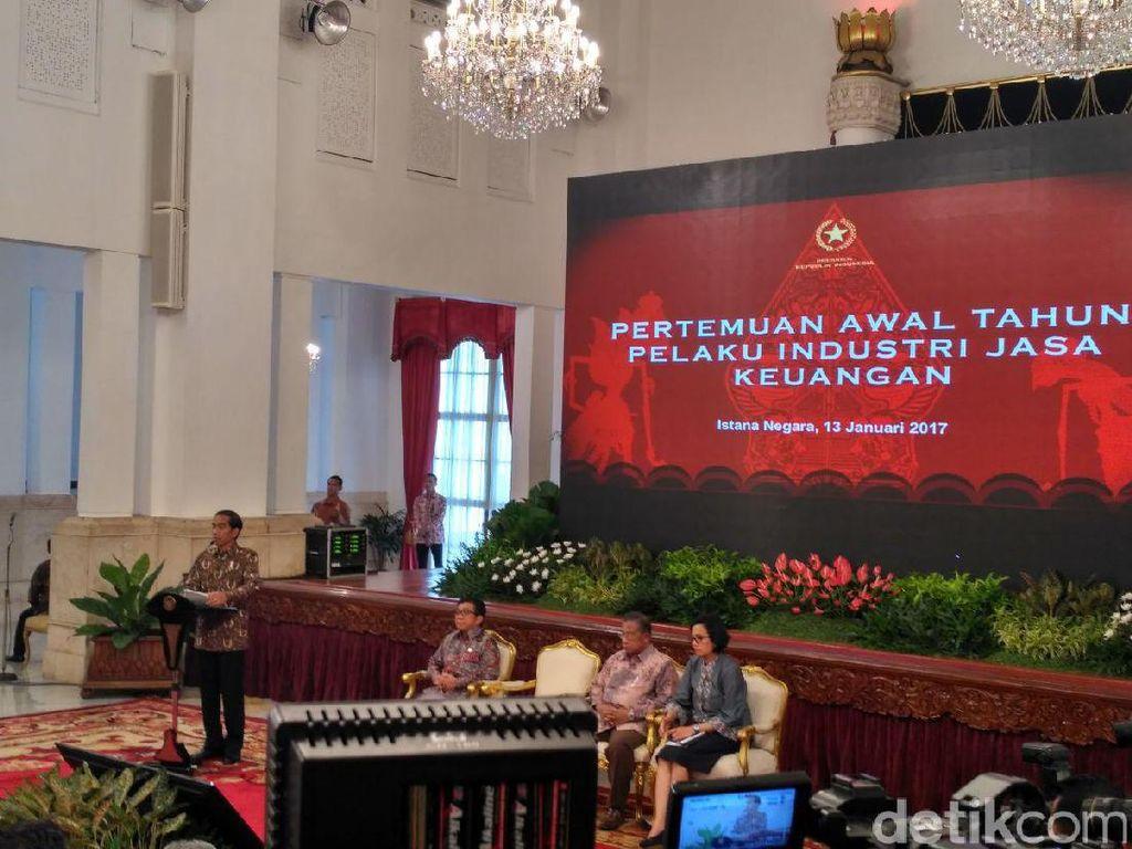 Jokowi Ingin Kredit Bank Tumbuh 12%, Fokus ke Petani dan Nelayan