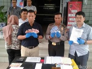 Tim Saber Pungli Tangkap PNS Wanita Disdik Kota Medan