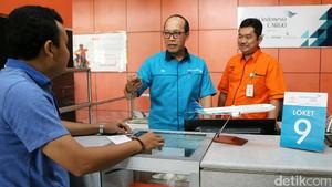 Garuda dan PT Pos Resmikan Outlet Kargo di Makassar