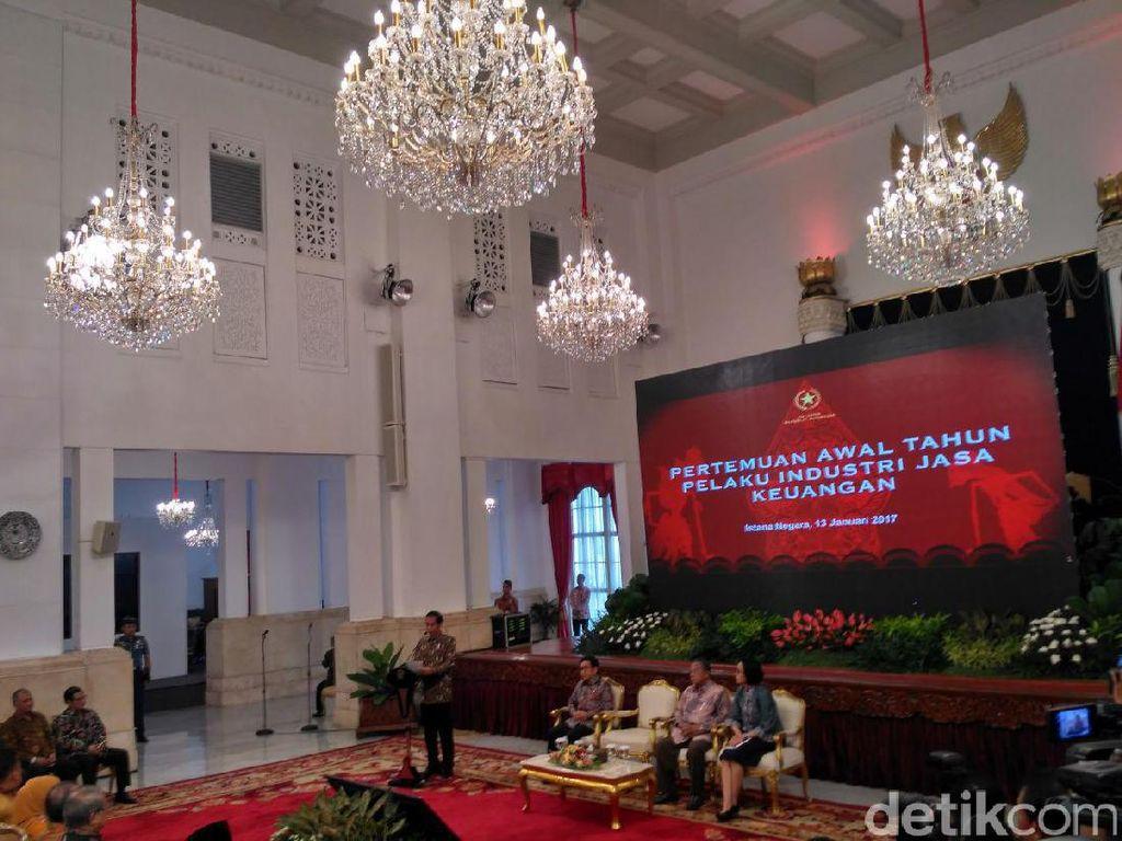 Pesan Jokowi ke Bank: Jangan Semangatnya Urus yang Gede-gede