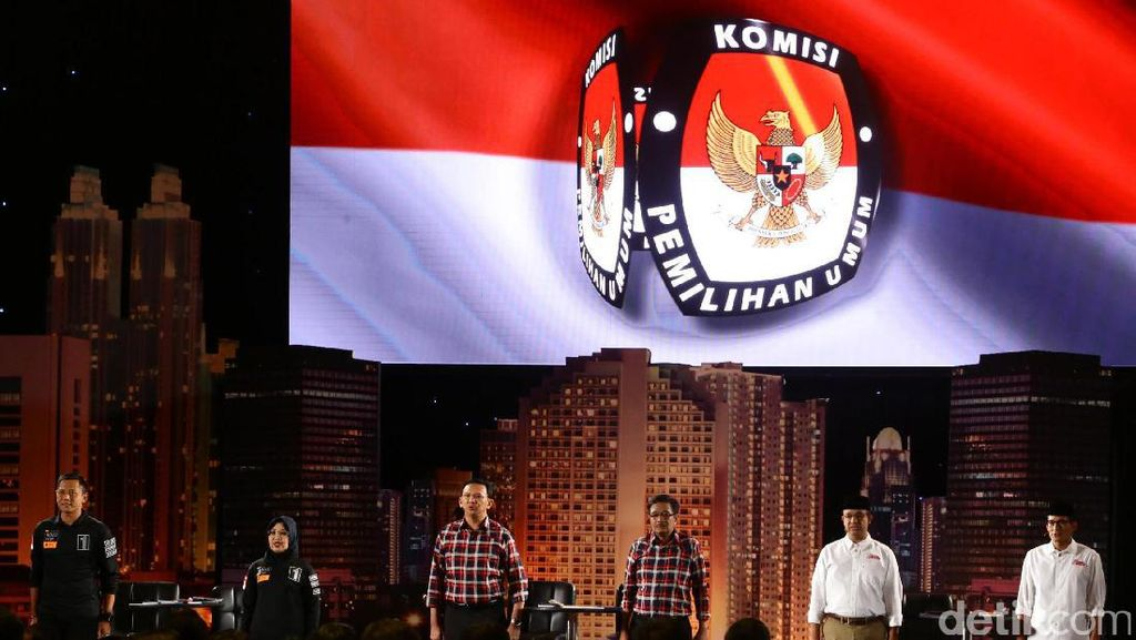 KPU akan Perpanjang Durasi Debat Cagub-Cawagub DKI