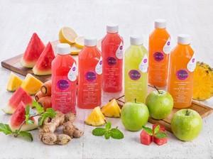 Jus Sehat Menyegarkan Berbahan Semangka dan Apel Hijau