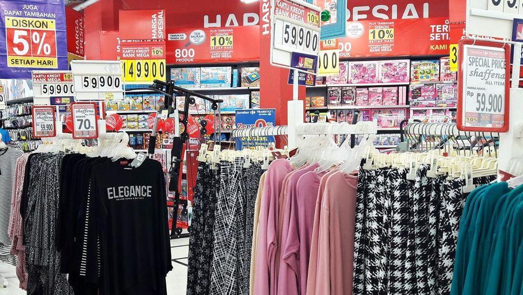 Diskon Aneka Kebutuhan Fashion Sampai 70% di Transmart dan Carrefour