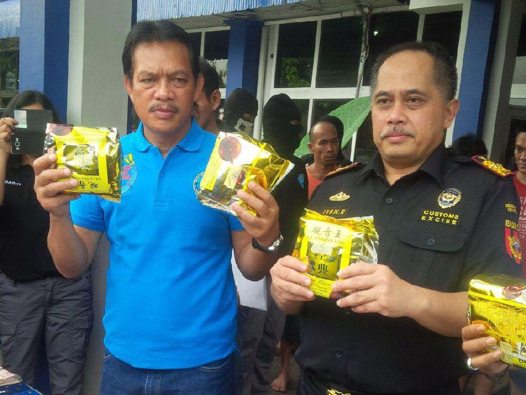 BNN: Sabu 10 Kg di Medan Dikendalikan Napi Lapas Tanjung Gusta