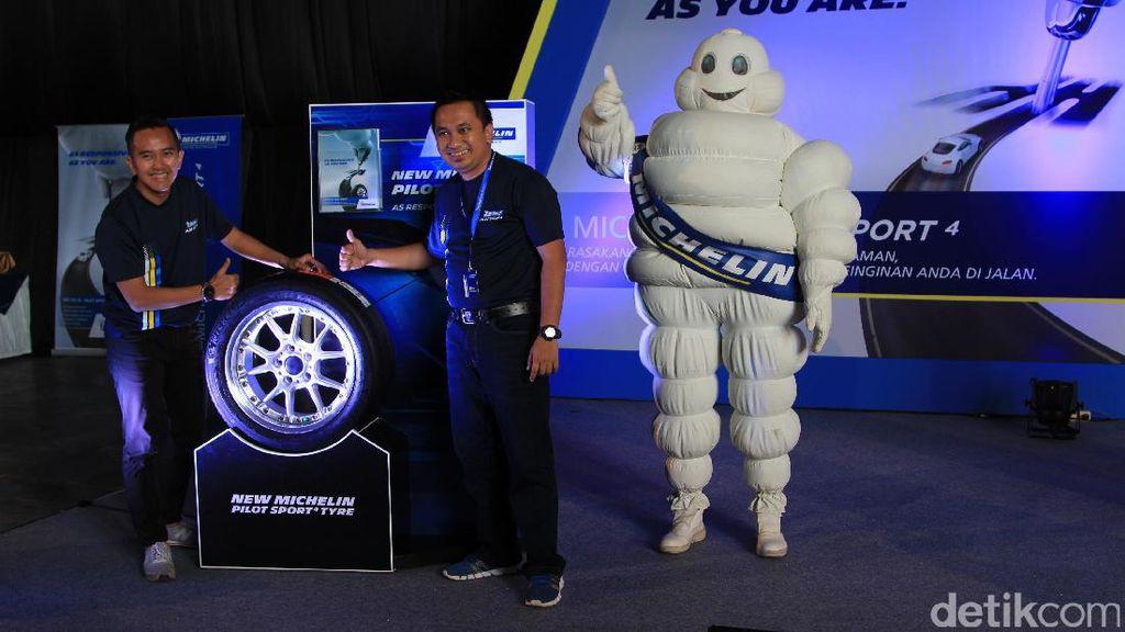 Michelin New Pilot Sport 4 Tyre Dibanderol Mulai Rp 1,3 Jutaan
