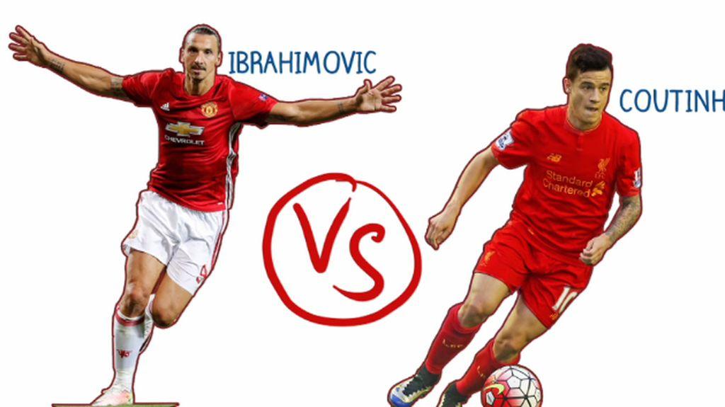 Ibrahimovic VS Coutinho, Siapa yang akan Cetak Gol?