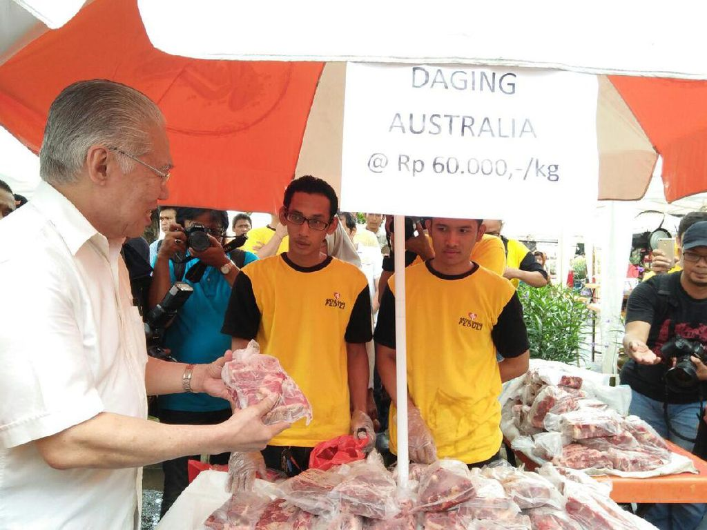 Daging Sapi Impor Dijual Rp 60.000/Kg di Pasar Murah SCBD