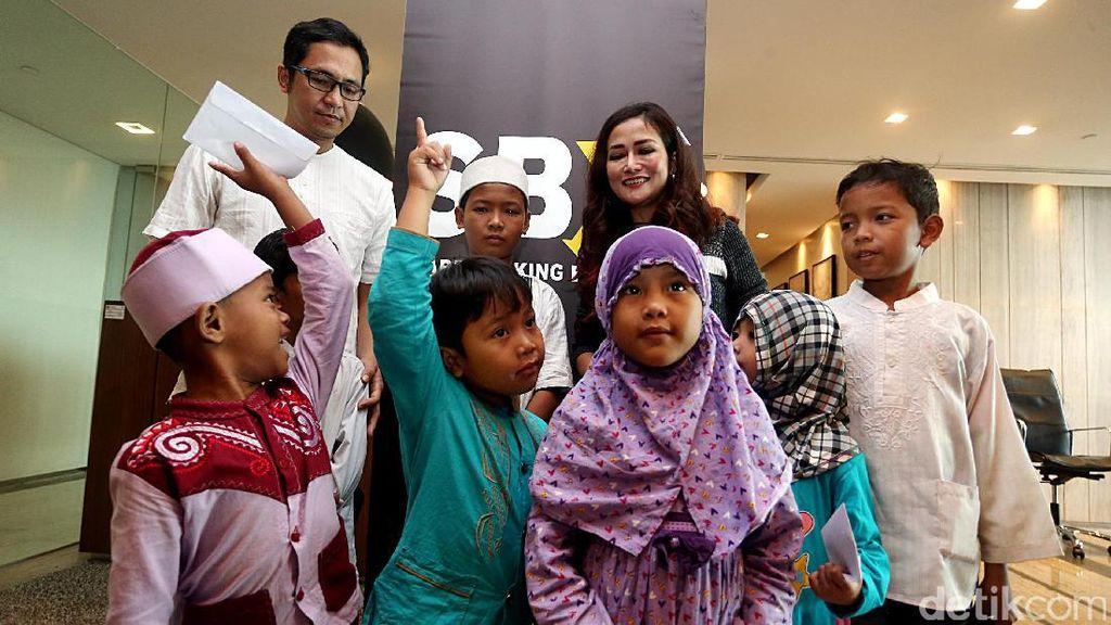 SBX Bank Beri Santunan Kepada Anak Yatim