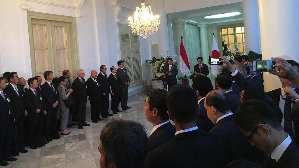 Terima Kunjungan Shinzo Abe, Ini yang Disampaikan Jokowi