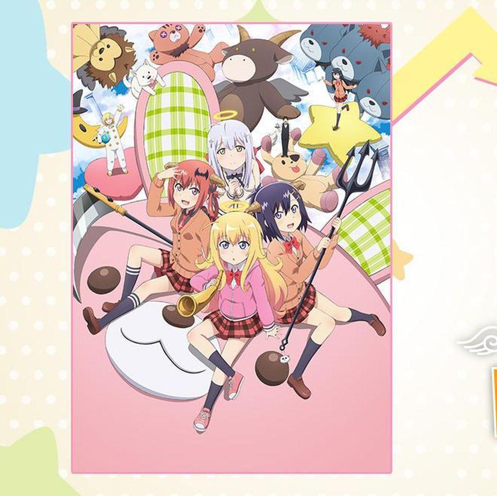 Sajian Anime-anime Baru Animax yang Siap Mengibur di 2017