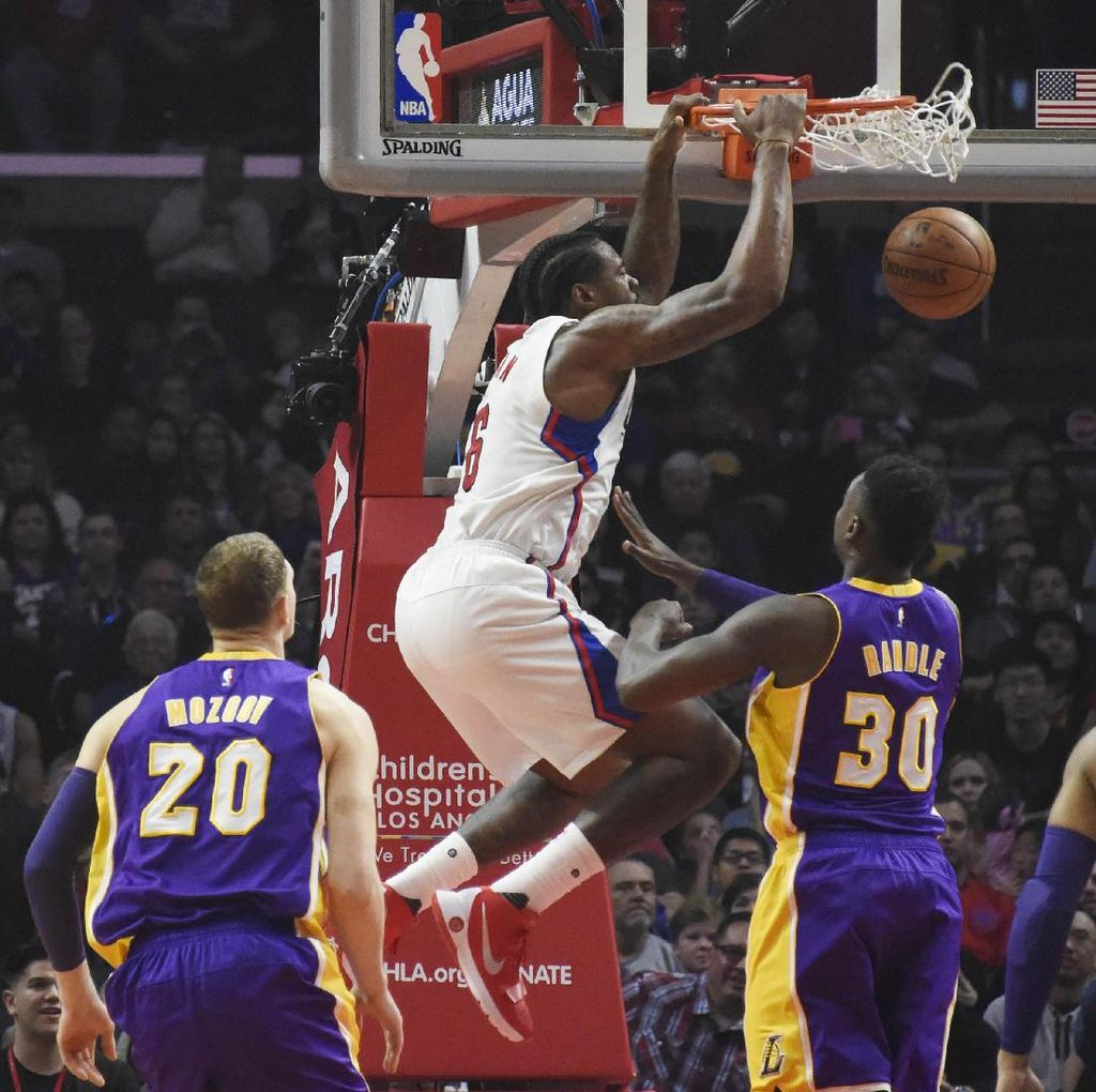 Revans, Clippers Benamkan Lakers 113-97