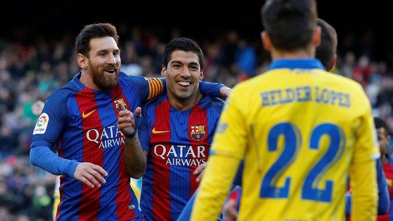 Suarez Bicara soal Kemenangan Telak Barcelona, Juga Bahas tentang Messi