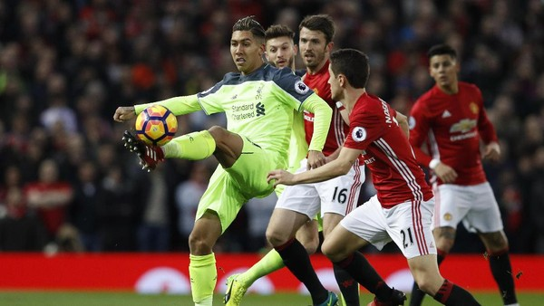 Live Report: Manchester United vs Liverpool