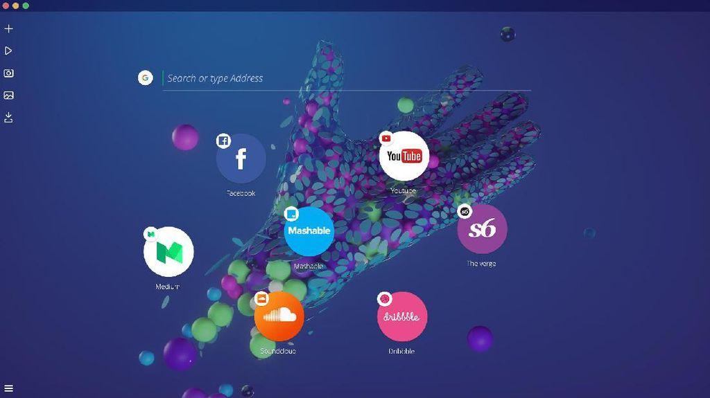 Opera Beberkan Konsep Browser Masa Depan