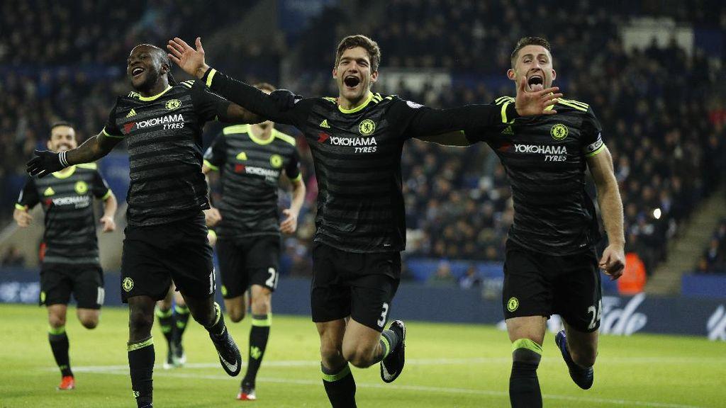 Courtois: Titel Juara di Tangan Chelsea? Kompetisi Masih Panjang