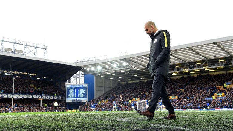Kekalahan Terburuk Guardiola oleh Everton di Liga
