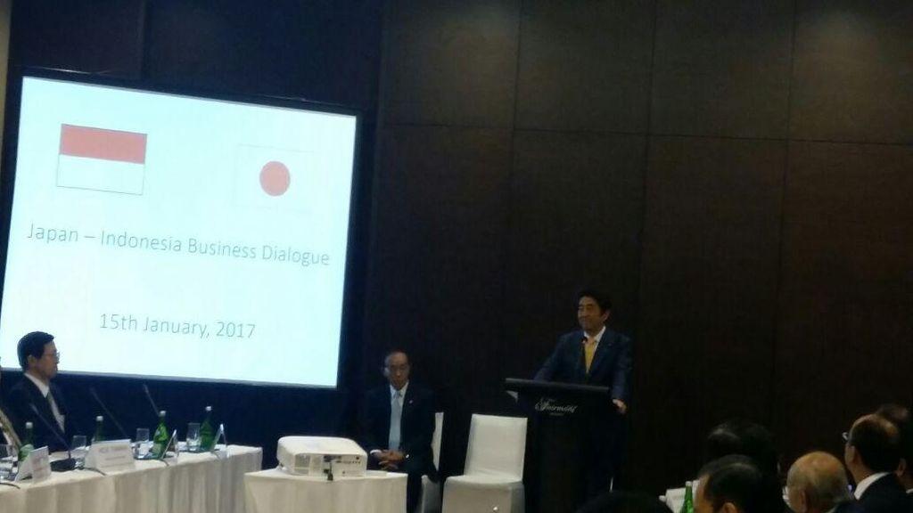 Banyak Orang RI Belajar Bahasa Jepang, Shinzo Abe: Itu Aset Penting
