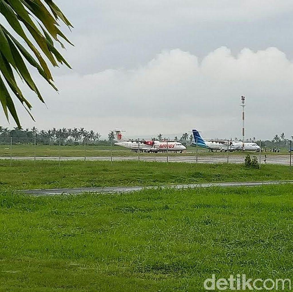 Begini SOP Bandara Blimbingsari Pasca Crash Landing Pesawat Latih