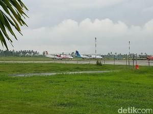 Begini SOP Bandara Blimbingsari Pasca <i>Crash Landing</i> Pesawat Latih
