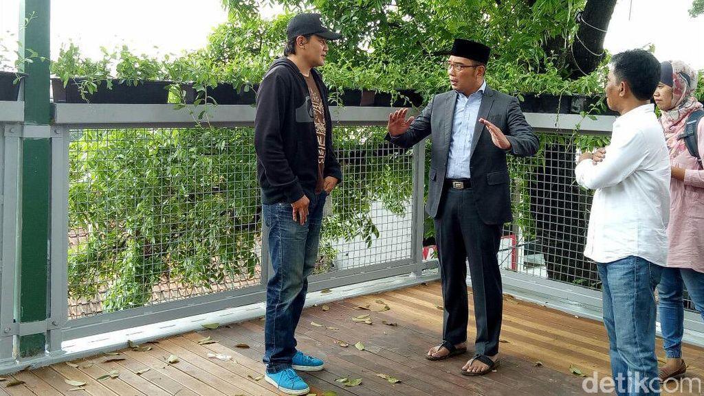 Ridwan Kamil Catat Ada 20 Persoalan yang Dikeluhkan Warga Bandung