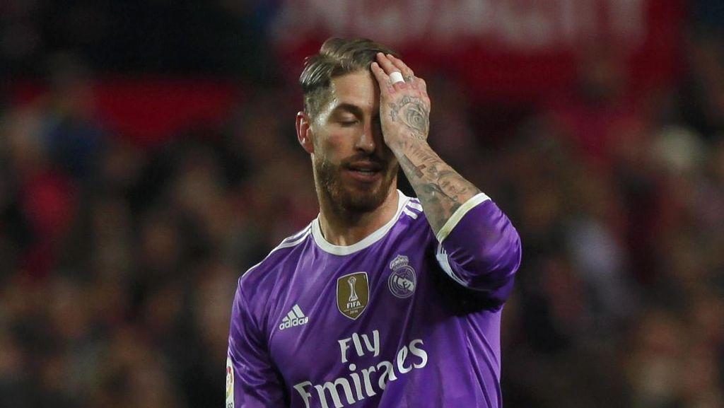 Gol Bunuh Diri Pertama Ramos di La Liga