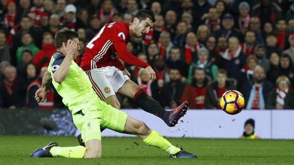 Berimbang dengan Liverpool, Mkhitaryan: MU Tak Pentingkan Rekor