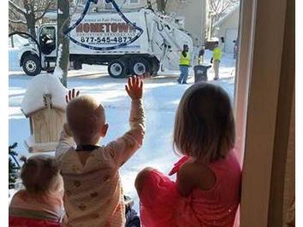 Kisah Anak Pasien Kanker dan Hadiah Berharga dari Tukang Sampah