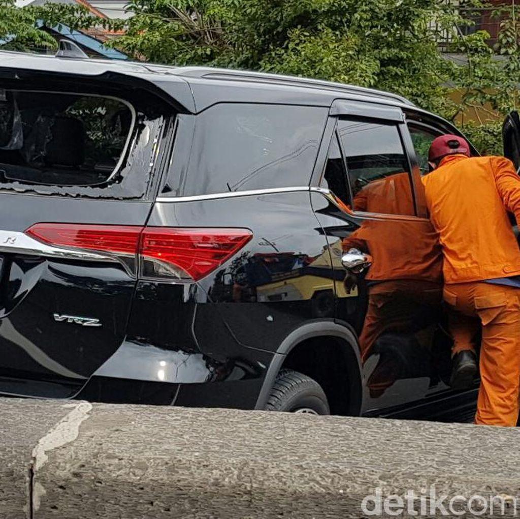 Kecelakaan di KM 14.400, Lalin Dupak ke Waru Sempat Padat
